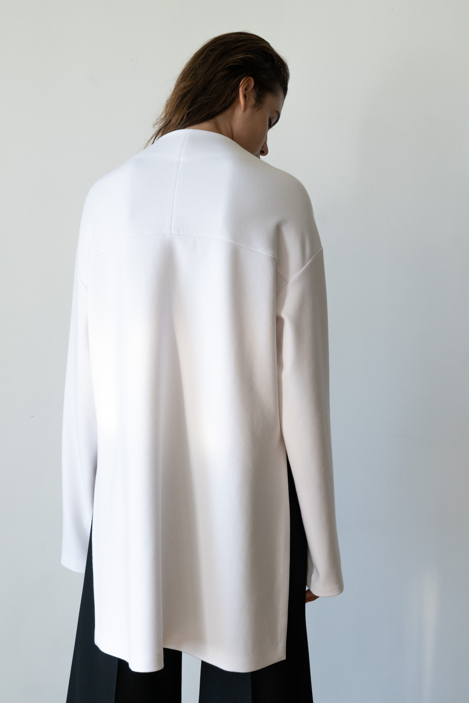 ROWE comfortable jersey blouse _off white
