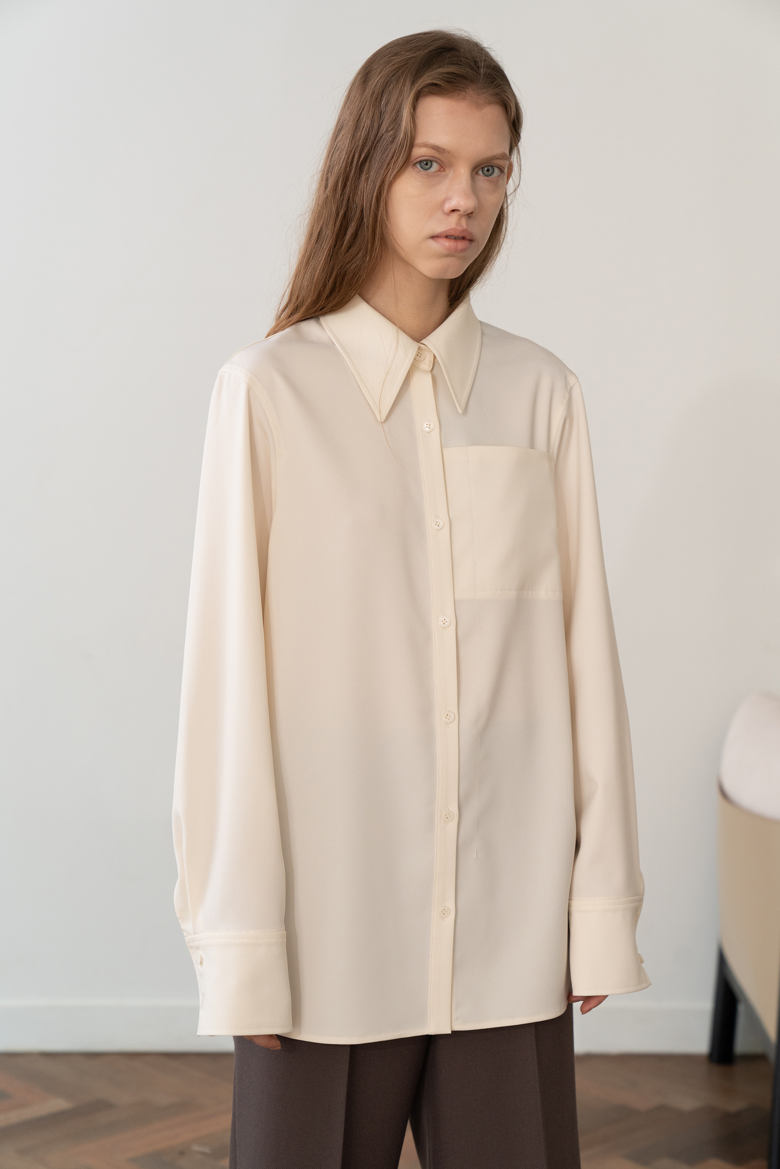 Easy Blouse _Ivory