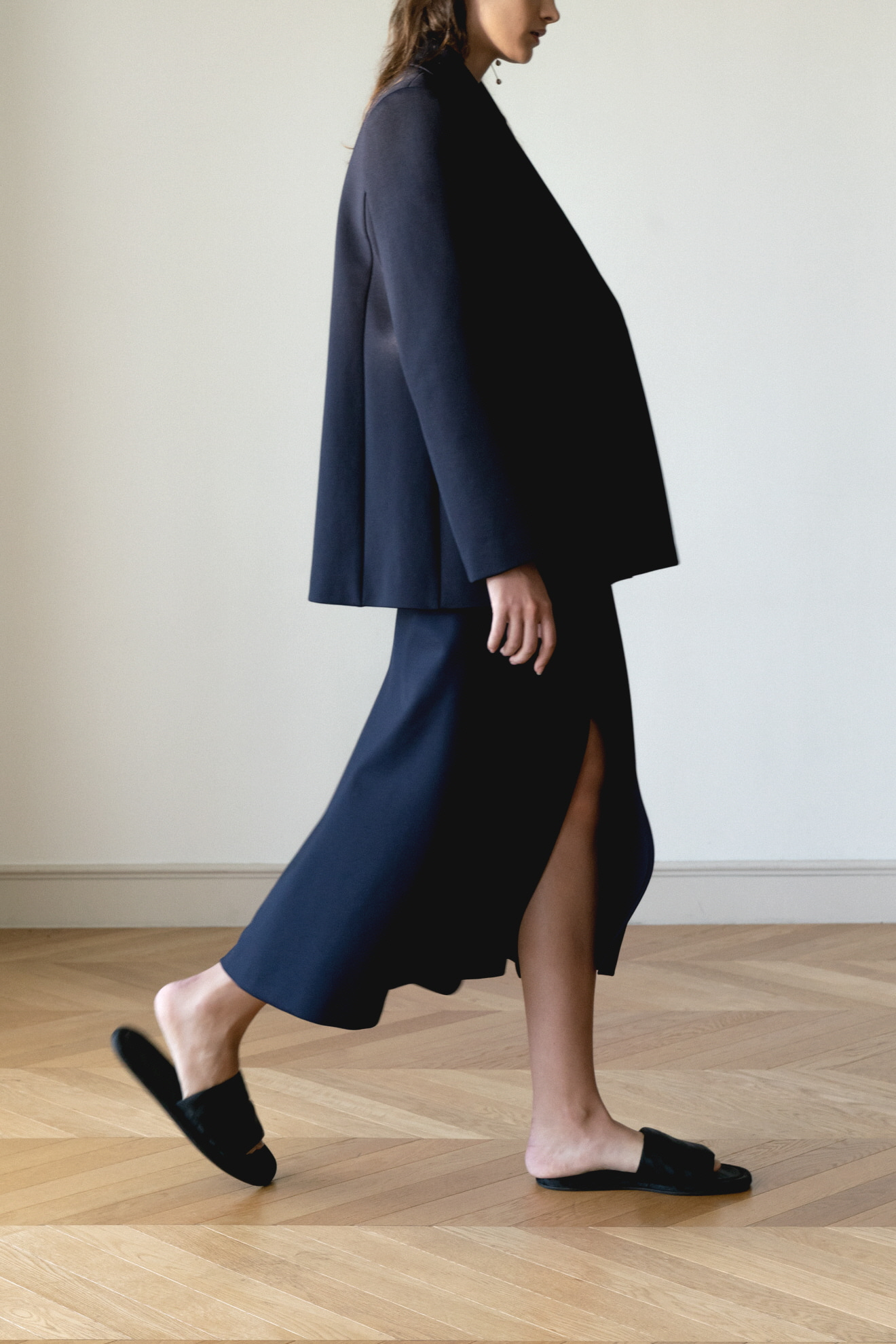 ROWE Signature Skirt _D/navy